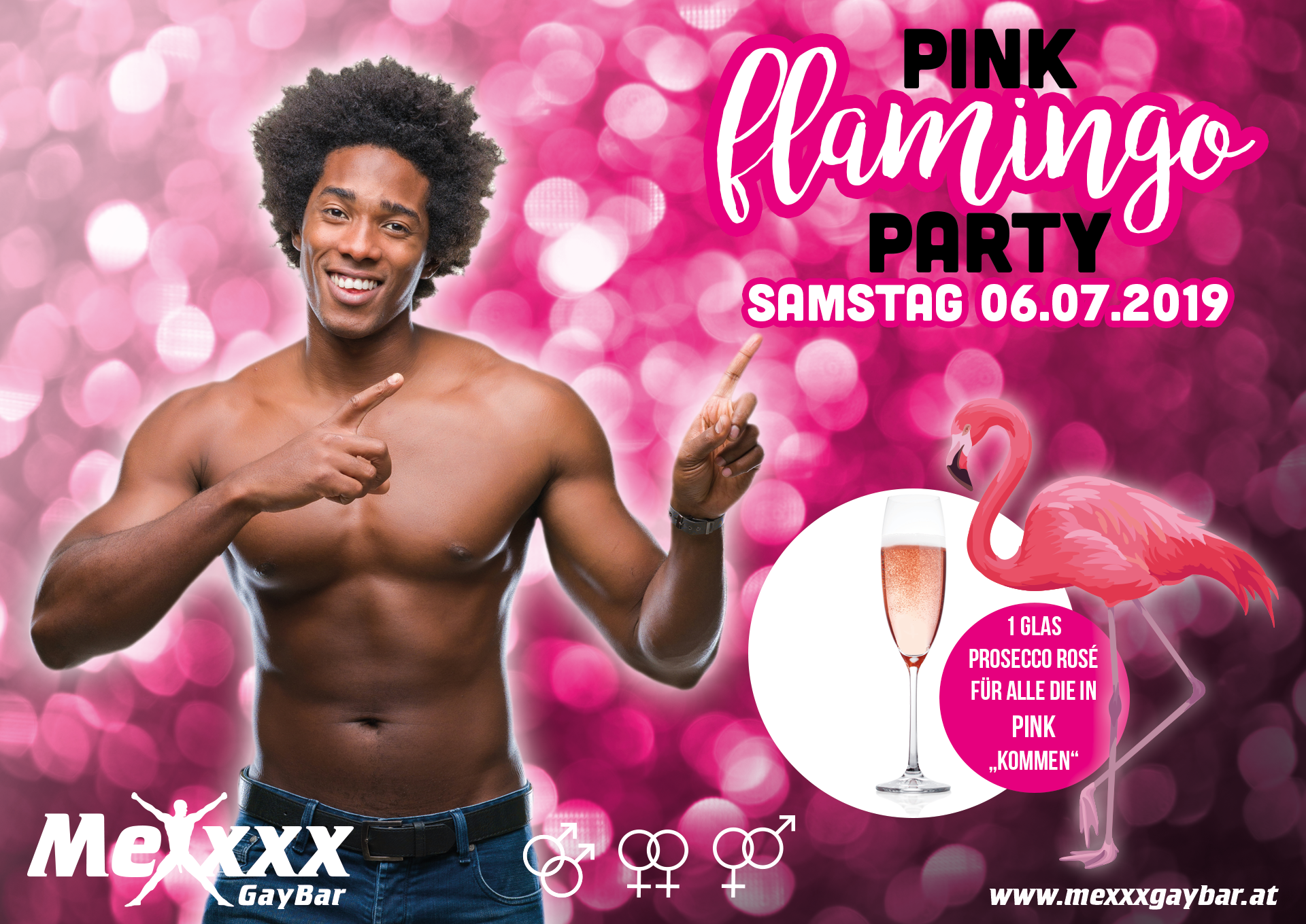 PINK flamingo PARTY 6. Juli 2019